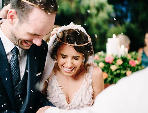 Ευγενία & Παναγιώτης: Ένας ρομαντικός καλοκαιρινός γάμος